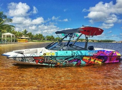 facebook wakeboard boats for sale the 25 best boat wraps ideas on pinterest ski boats