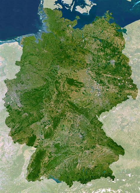 germany satellite map germany satellite map size