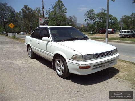 1990 Toyota Corolla For Sale Used Toyota Corolla 1 6 Gli 1990 Car For Sale In Islamabad