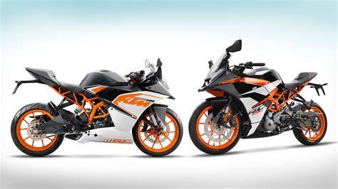 Ktm Rc 390 News Ktm Launches All New Rc 390 And Rc 200
