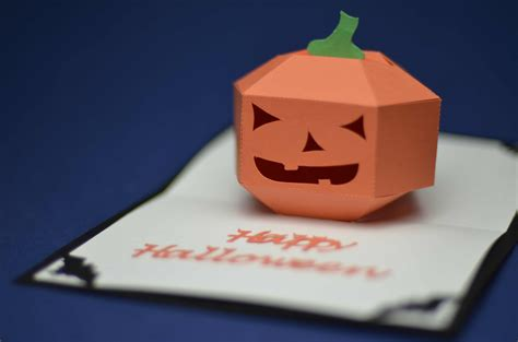 3d Pumpkin Card Template Pdf by Pop Up Card 3d Pumpkin Tutorial Creative Pop