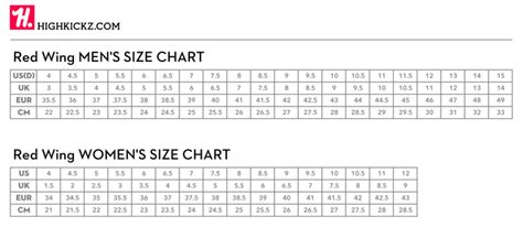 shoe size chart red wing red wing shoe size chart review alden oak street red