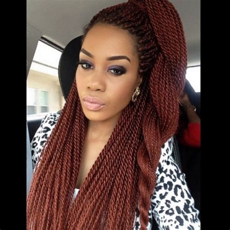 using differentcolored extensions for senegalesetwist 40 senegalese twist hairstyles for black women