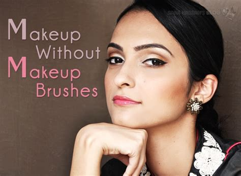 eyeshadow tutorial without brushes makeup look without makeup brushes tutorial for eid