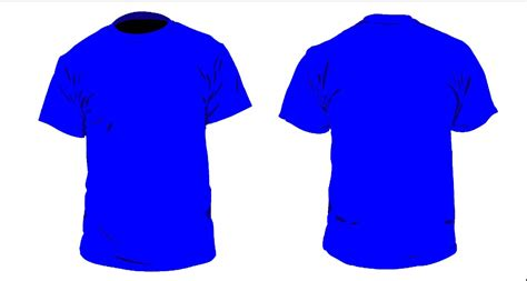 desain jas depan belakang 13 gambar desain kaos polos depan belakang terbaru