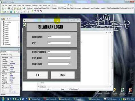 tutorial login delphi tutorial mysql form login delphi dg zeosdbo youtube