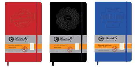 Promo Personal Note Book Note Book Mini Limited Edition Custom Notebooks And Journals Piccadilly