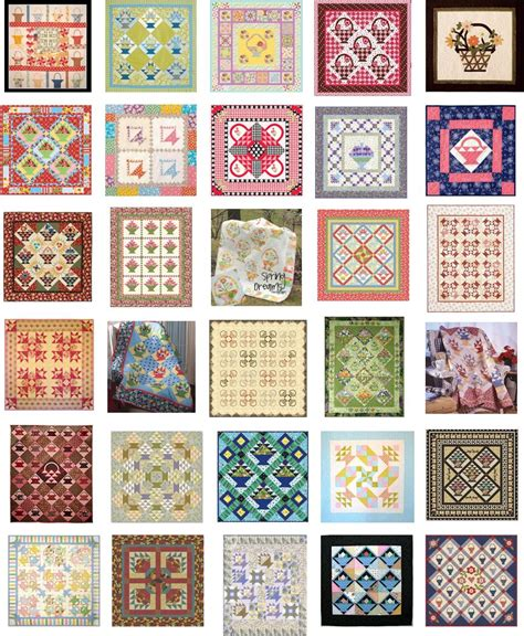 Quilt Pattern Free by Quilt Inspiration Free Pattern Day Basket Quilts