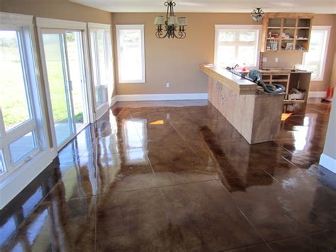 stained concrete floors contemporary other metro by