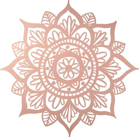 Mandala Gold quot new gold mandala quot stickers by julieerindesign redbubble