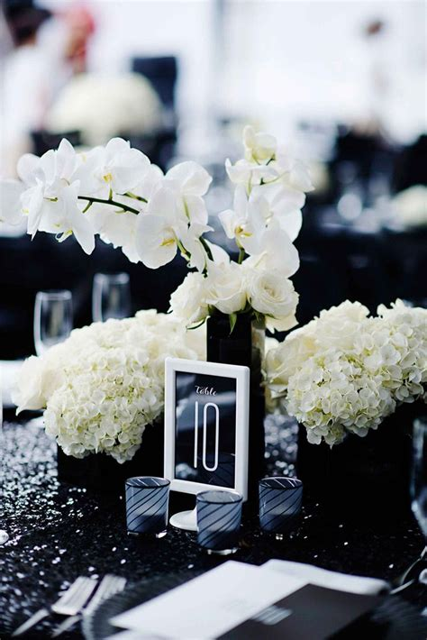 Black And White Wedding Decor by Black And White Wedding That Will Wow You