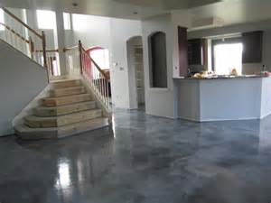 inspirations grey stained concrete floors with grey