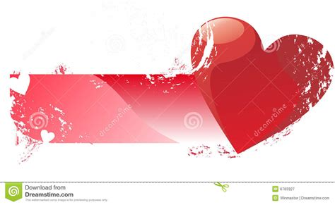 banner design love love banner royalty free stock photography image 6763327
