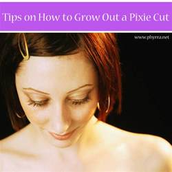 how to style the hairstyle how to gracefully grow out a pixie cut