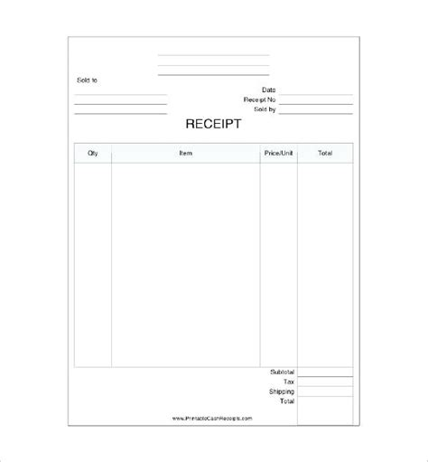sold as seen receipt template sold as seen receipt template printable bill of sale