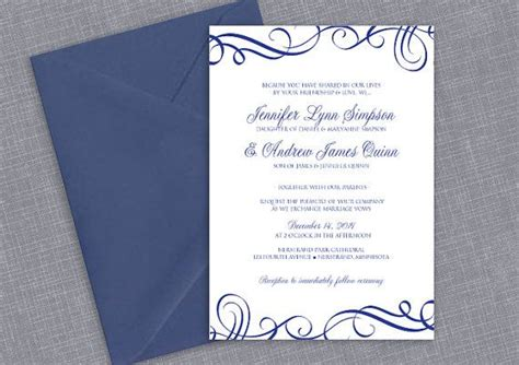 microsoft templates wedding invitation cards printable wedding invitation template instantly