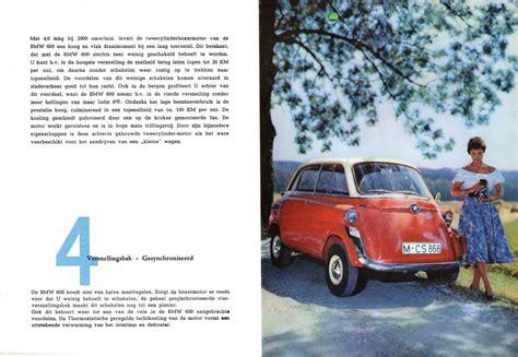 motor repair manual 1957 bmw 600 auto manual service manual 1957 59 bmw 600 brochure 1957 59 bmw 600 brochure