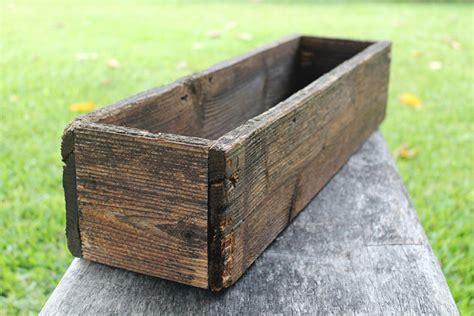 Rustic Planter Box by 24 Rustic Cedar Planters Box Version Wooden Box