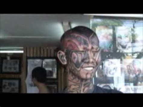 body tattoo youtube smile tattoo tribal face tattooing toung head body art