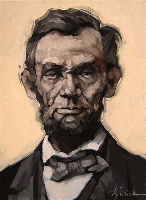 abraham lincoln profession a painting today quot abraham lincoln quot