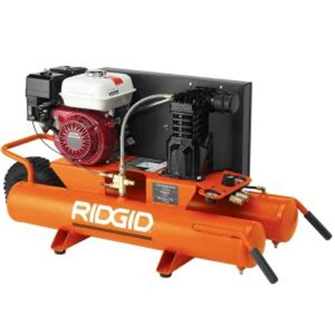 ridgid 9 gal portable gas air compressor discontinued