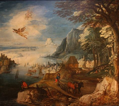 Landscape With The Fall Of Icarus Painting Classic Tales Faculty Of Education Of