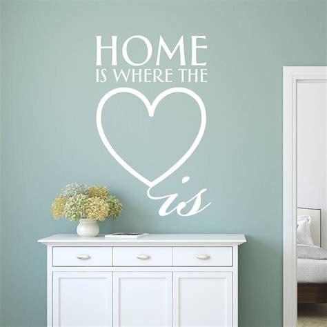 is where the home is books home is where the is wall sticker by ta dah wall