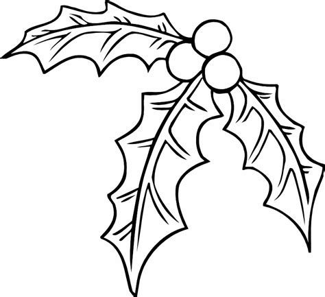 mistletoe coloring page az coloring pages