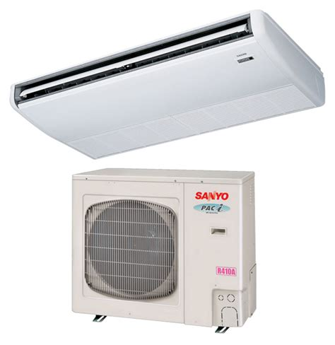 New York Sanyo Ceiling Mounted Ductless Air Conditioning Ceiling Mounted Air Conditioner