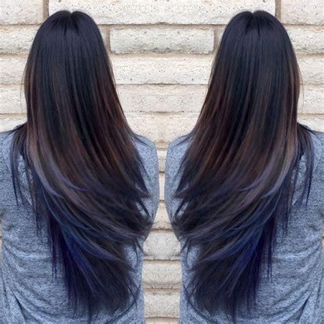 hair lighter shade on bottom best 25 blue tips hair ideas on pinterest blue tips