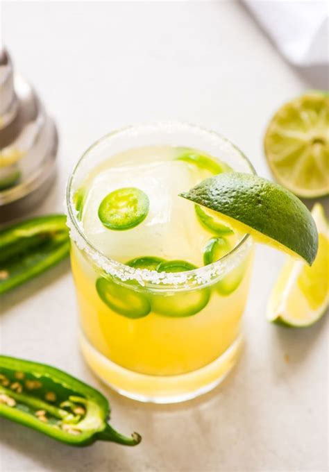 jalapeno margaritas spicy jalapeno margarita recipe well plated by erin
