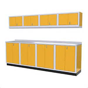 Yellow Garage Cabinets High Quality Aluminum Garage Cabinets Yellow