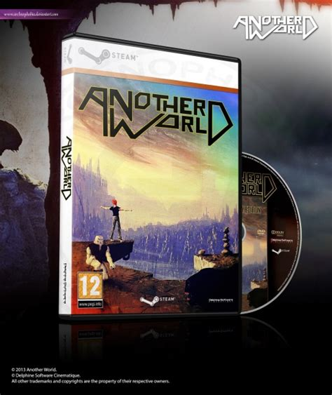 another world cover by ygproject another world pc box cover by archnophobia