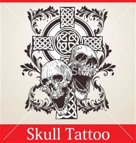 celtic skull tattoo designs the world s catalog of ideas