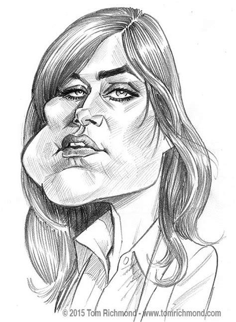 megan boone face shape 88 best caricature images on pinterest caricatures pin