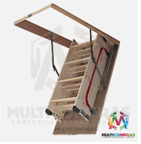 como hacer una escalera plegable para altillo