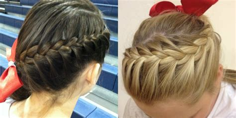 cheer hairstyles absolutely cheer hairstyles any will