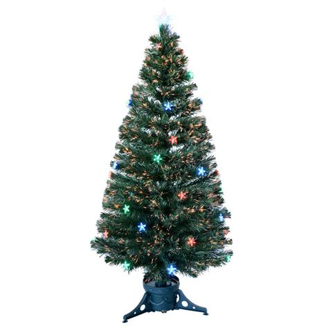 5ft 150cm beautiful green fibre optic christmas tree with