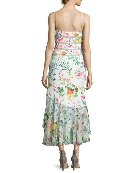 Sleeveless Chiffon Midi Dress tadashi shoji sleeveless floral chiffon midi dress white