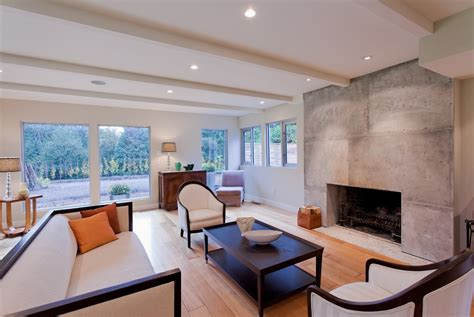 modern living room with fireplace fireplace surrounds ideas dining room contemporary with