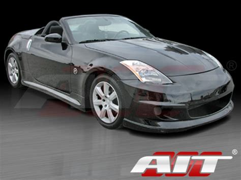nissan srs srs style side skirts for nissan 350z 2003 2008