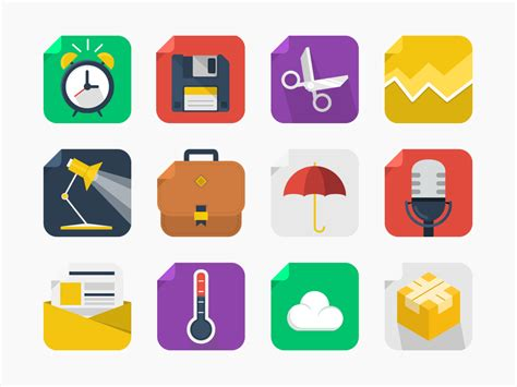 10 Icons Of Our Decade by 20 Free Square Icons Get Them Now