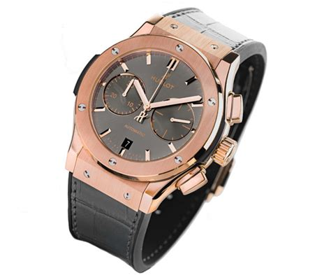 Hublot Vendome Fusion Rosegold Grey hublot classic fusion grey racing replica available in titanium and 18k king gold best swiss