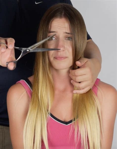 woman forced haircuts pin by hair matters on making the cut pinterest