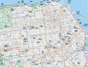 San Francisco On Map by Large San Francisco Maps For Free Download And Print