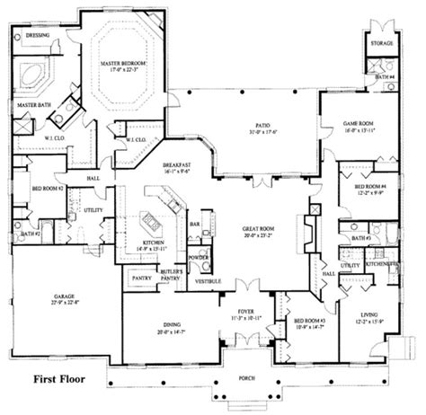 house plans with inlaw suite spare bedroom with a kitchenette butler s pantry pass