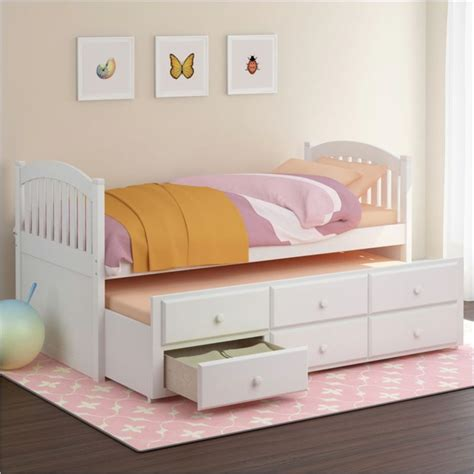 trundle bed for girls sonax corliving heritage place solid wood twin platform