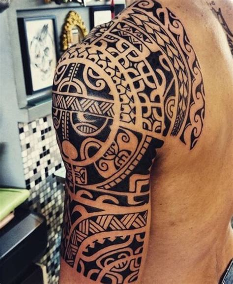 marquesan tattoo the symbolic identity of the marquesan sleeve