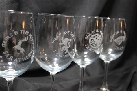 game of thrones wine glasses unavailable listing on etsy