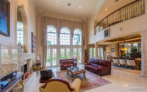 2 Story Living Room by 2 Story Living Room Home Design